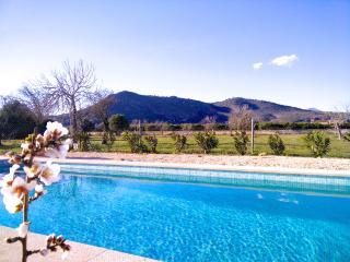villa rústica con piscina privada y bonitas vistas, Inca
