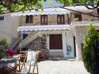 Stone house on mountainous Lefkada, beautiful view, Lefkada Town