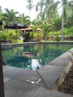 One of two  Swimming Pools