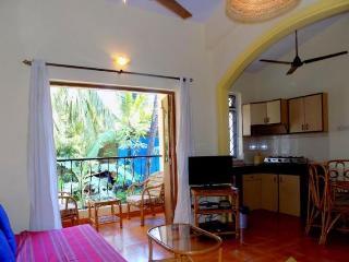 Elegantly Furnished 1 BHK Apartment In Baga, Goa