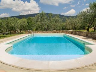 Cortona walking distance villa