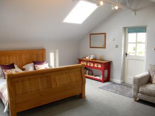 Oak Super King sized bed