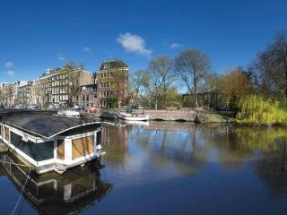 Lovely and tranquil houseboat in Amsterdam centre!