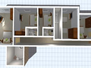 Southwing 1st floor 3d plan