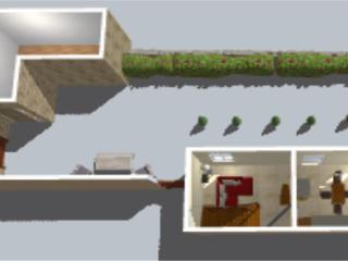 The dairy ground floor plan 3d