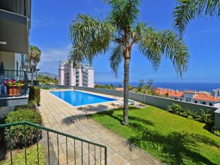 Funchal-Spacious south facing apt,pool,ocean views