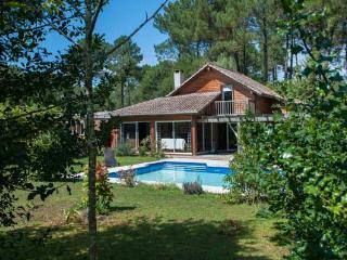 Villa en bois avec piscine chauffée, Seignosse