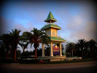 Clock Tower at Entrance to PGA Vilage