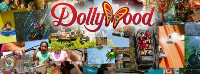 Dollywood only 6.4 miles from the cabin.
