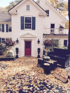 Welcome to Lakewood Estate, homestead circa 1850. Fall is lovely with our nearby cider mill