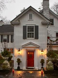 Originally a Quaker Farmhouse, the home was expanded in the early 1900s. See you in the kitchen.