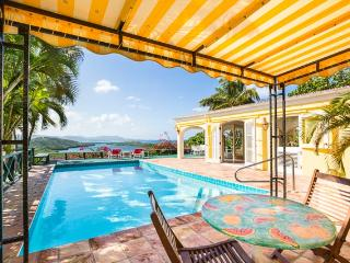 Spectacular Hilltop Home, Views Of Caribbean Sea, Christiansted