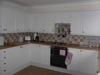 Spacious kitchen/ diner  with dishwasher washing machine fridge freezer, very well equipped .