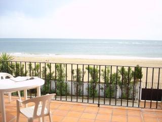 Chalet independiente 1ª línea de playa, vistas mar, El Portil