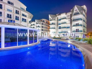 Near to the beach luxury 2 bedroom apartments at Melda Palace, Antalya
