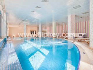 Luxury 3BR apartments with big pool, hamam and sauna at Onkel Residence