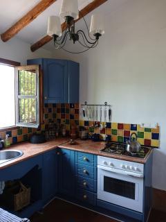 Kitchen of casita