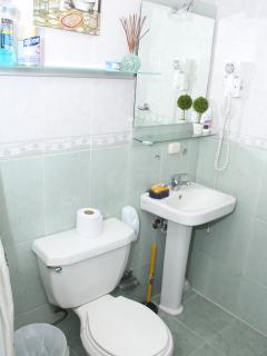Guest Bathroom..Hallway