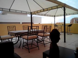 Big terrace in Riviera del Sol, Mijas