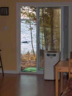 Lake View from the living room.