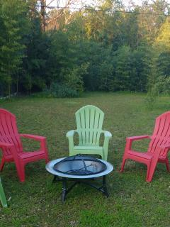 Enjoy The Backyard Fire Pit or Charcoal Gril After a Fun Day Out