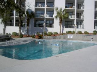3 BR Condo  one block to beach Aug 26 Avail.