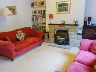 ROSE COTTAGE, mid-terrace property, gas fire, very close to town centre, in, Skipton