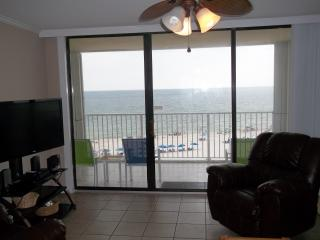"""A Whale Of A View"".  Gulf Views From Every Room!  Large Pool! Perfect Location!, Gulf Shores"