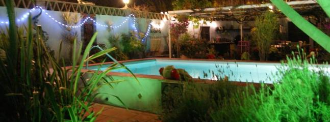Swimming pool open day or night
