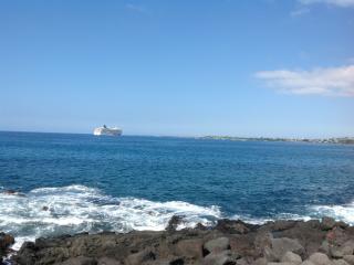 OCEANFRONT POOL, CLEAN AND PRETTY!, Kailua-Kona