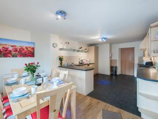 Dining area and well equipped Kitchen