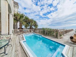 Collier Beach 2, Luxury 5 Bedrooms Oceanfront, Private Pool, Sleeps 14, Hilton Head