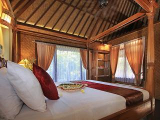 Homey DeluxecRoom Ubud View Bungalow