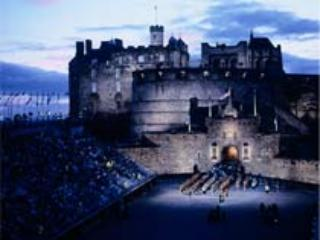 The Tattoo at Edinburgh Castle.