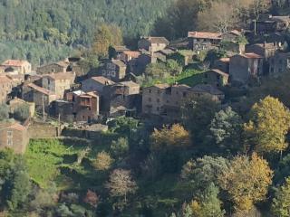 Old Stone Houses built w/ Schist, Talasnal, Lousa