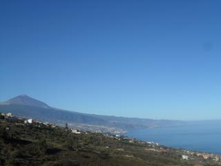 Teide y mar, El Sauzal