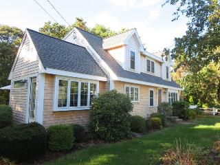 Easy Entry through side door off driveway-22 Bassetts Lane West Harwich New England Vacation Rentals Cape Cod
