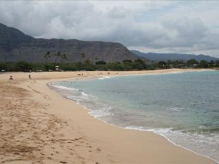 Step Off Your Lanai and Onto Sand at Makaha, Waianae
