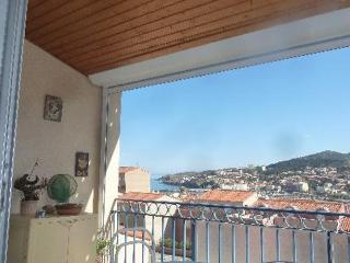 Agréable appartement T2, vue s, Banyuls-sur-mer