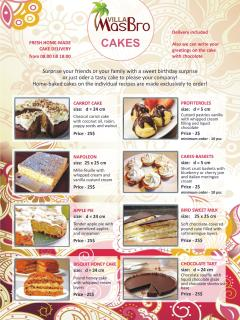 You are preparing some celebration or just want to treat yourself to a piece of delicious cake?