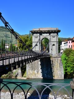 Suspension Bridge at Chifenti