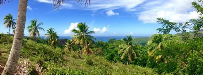 La vista da una della stradine della penisola