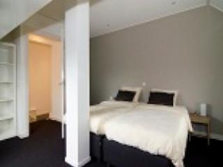 slaapkamer boven appartement De Mataram