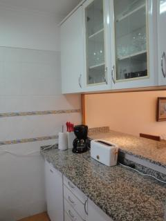 Fully equipped kitchen including dish washer, micro, coffee machine,  washing machine and more