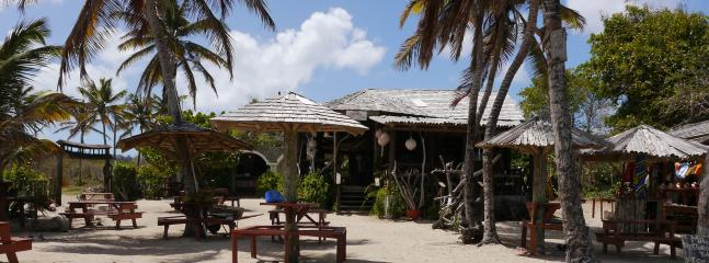 Local beach bar/restaurant