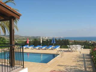 Bungalow,En-suite,3 bedr, Sea view, private pool, Peyia