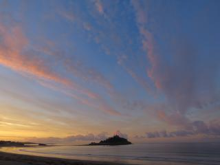 Sunrise over St.Michael's Mount
