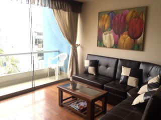 MIRAFLORES furnished  wi-fi Balcony Laundry, Lima