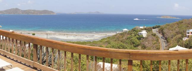 Panoramic view from the deck