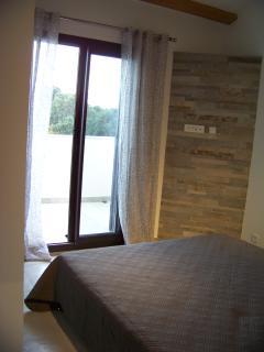 deuxième chambre à coucher à l'étage